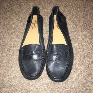 Coach Leather Penny Loafer